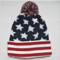 美式甜美针织帽