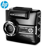 HP惠普行车记录仪1440p超高清夜视迷你大广角智能胎压监测f558