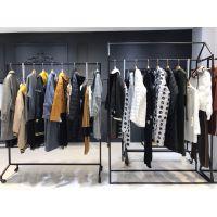 米色广州品牌折扣批发2017年MISS宝姿蕾丝衫毛衣