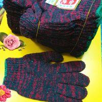 600克彩手套 工作手套 冬季保暖手套 畅销爆款1元地摊货源 赠品