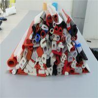 耐高温硅胶密封条 阻燃橡胶条 海绵发泡硅胶条