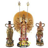 1·8米千手千眼观音菩萨佛像树脂玻璃钢寺庙供奉工艺品 佛像批发厂家