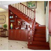 梯下带柜子的楼梯—乌鲁木齐怡达楼梯