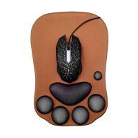 OEM定制猫爪硅胶护腕鼠标垫