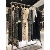 艾尔文19夏季香港品牌连衣裙套装外贸货源渠道折扣批发