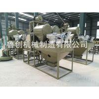 西藏青稞脱皮磨面机全自动青稞面粉机