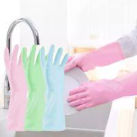 四季款家务手套清洁厨房洗碗薄款防水耐用洗衣清洁家务必备
