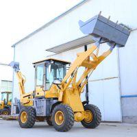 山东泰安山立机械定做小型挖掘机 可根据图纸改装 小型前装后挖