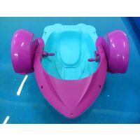水里玩的手摇船生产厂家 定做充气水池手摇船在哪购买 水上手摇船娱乐设施