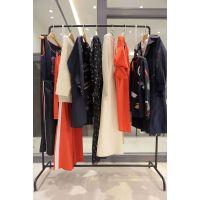 韩序品牌女装尾货范文折扣 时尚品牌女装加盟尾货橘色卫衣绒衫