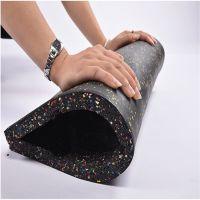 健身房高弹性橡胶卷材减震地胶软塑胶地板舞蹈室学校塑料地垫