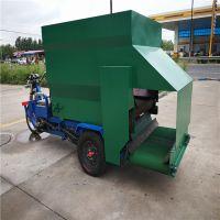 省时省力撒料车 陕西地区饲料机械养殖撒料车 全自动养殖设备喂料车