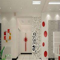 艺术镂空隔断屏风密度板木塑板雕花板花格通花吊顶玄关电视背景墙