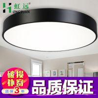 LED吸顶灯圆形卧室灯客厅灯具大气现代创意餐厅灯阳台灯北欧简约