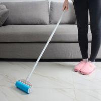 加长伸缩杆粘毛器衣物除尘滚长杆滚筒式粘毛滚地面沙发地毯粘尘器