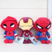 新蜘蛛侠英雄归来公仔 SpiderMan漫威毛绒玩具 动漫周边娃娃批发