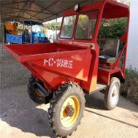 厂家直销全新四驱工程车小型农用四轮拖拉机 四不像农用翻斗车