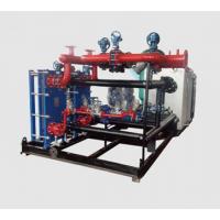 板式换热机组智能热水交换机组热力站换热机组厂家新疆供热机组远程控制100KW换热器