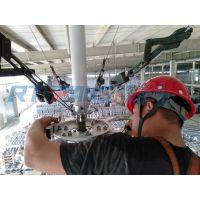 塑胶厂如何降温通风安装工业风扇设备
