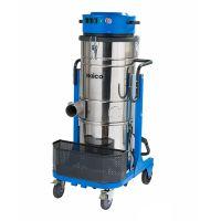耐柯A120大功率电子振尘吸水吸尘器 220V工业粉尘铁屑金属吸尘器