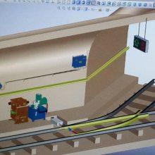 ZMK-127型矿用风门自动控制装置生产厂家 液压风门装置 气动风门装置