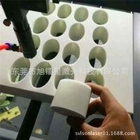 海绵垫EVA泡棉胶圈激光切割开料机 电子海绵包装材料激光切割机