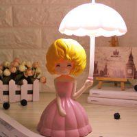儿童阅读迷你护眼LED节能书桌卡通台灯学习床头灯卧室充电小夜灯