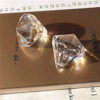 新款韩版饰品配件 七彩透明珠亚克力灯饰球 diy材料散珠 10颗一包