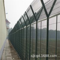 佛山监狱防护网 高安全性护栏网 Y形柱护栏网折弯钢丝网生产厂家