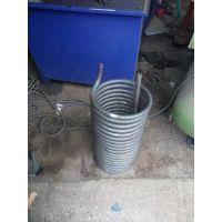 专业定制 304不锈钢弯管盘管加工 工艺蛇形蚊香型弯管