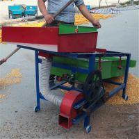 多功能谷物清选机 小型粮食除杂精选机 玉米大豆振动筛选机