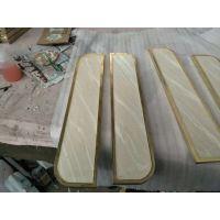 美洲豪华铝板雕刻拉手定制