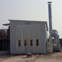 博远供应兴化市大型挂车烤漆房 喷漆设备 无尘环保设备耐用环保喷漆房