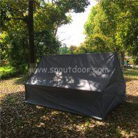 山牛野营吊床罩天幕沙滩地布压胶防水地席野餐垫防潮户外地垫无杆帐篷