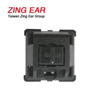 ZINGEAR 控灯台按键开关 MX1A-11NW国产GT02黑轴按键开关