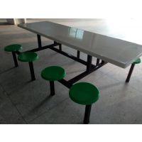 龙岗学生餐桌 学校食堂快餐桌椅厂家