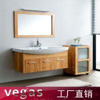 佛山浴柜厂家直销出口卫生间洗脸盆组合柜 美式浴室柜批量定制