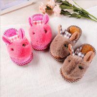 儿童棉拖鞋 秋冬季居家可爱儿童卡通防滑棉拖鞋加厚棉鞋厂家批发
