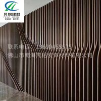 厂家直供  U型方通 型材方通造型方 通造型铝方通吊顶 可定制
