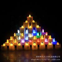 厂家直销 LED电子蜡烛 创意婚庆无烟仿真场地布置道具蜡烛灯