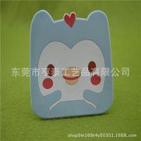 批发精美卡通PVC杯垫 定制高质量咖啡塑胶杯垫 广告小礼品