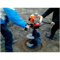 长治单人手提挖坑机 挖坑机外形美观
