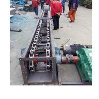 不锈钢刮板输送机定做大提升量 粮食输送机枣庄