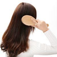 FaSoLa头皮梳子头部顺发美发梳气囊卷发梳气垫化妆木梳