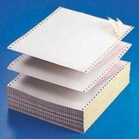 双层无碳针式电脑打印纸241二联 三四五联淘宝发货单连打纸出货单