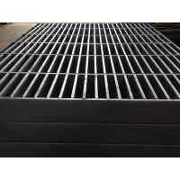 陕西重型钢格板 重荷载压锁镀锌钢格板 重型插接镀锌格栅板