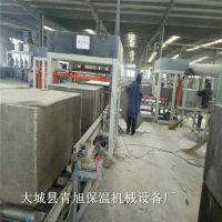 模发压制水泥基匀质板设备模具生产工艺流程