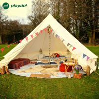 柏拉途帐篷户外3-4人野营家庭情侣自驾游露营防雨蒙古包