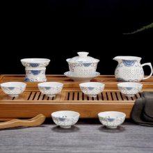 陶瓷茶盘整套家用功夫茶具套装功夫 出口海外