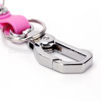 钥匙扣金属男士汽车腰挂高档活动狗扣女生小饰品创意礼品挂件个性